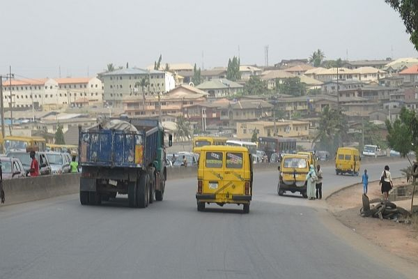Highway in Lagos
