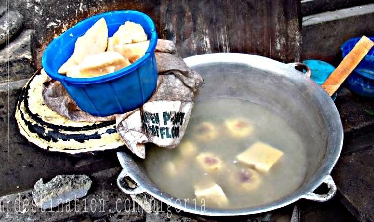 Boiling Yam