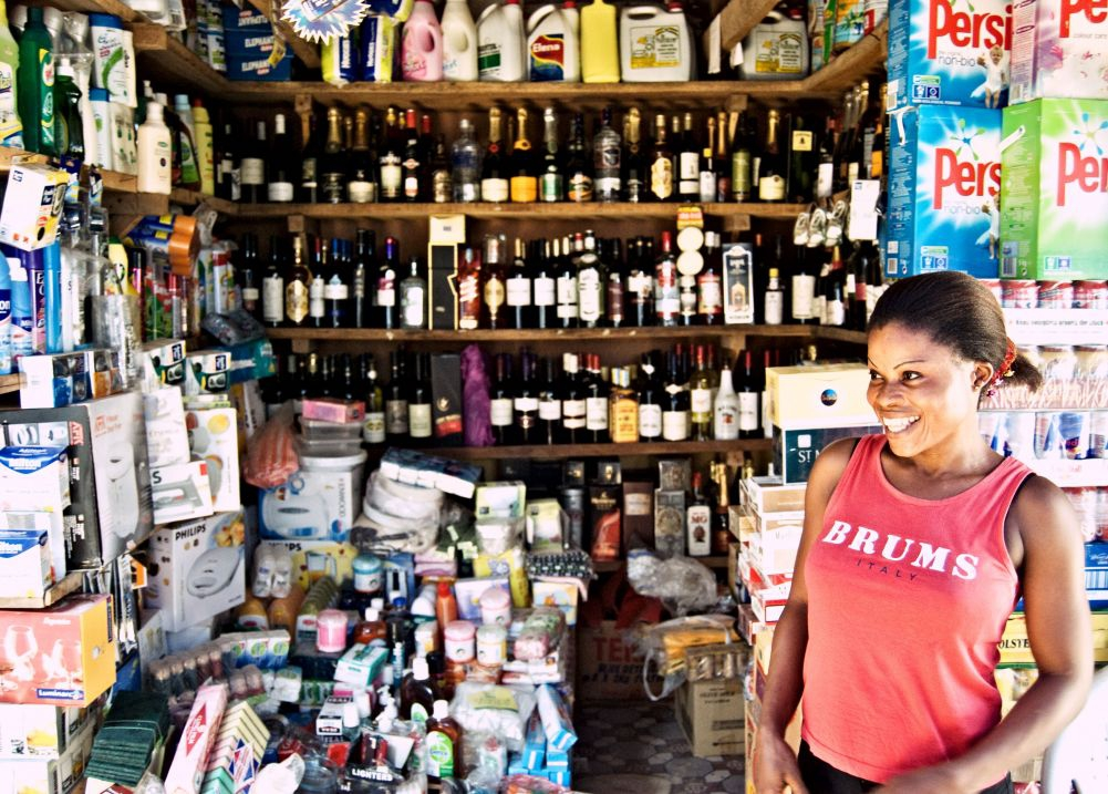 Shopkeeper, Lagos.