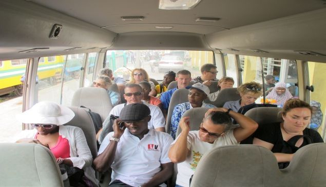 Bus ride from Lafun(Abeokuta Train Terminus) to the Palace of the Alake of Egbaland