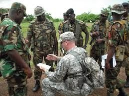 Foreign soldiers sent to assist Nigeria to help rescue the Chibok Girls from Boko Haram camp