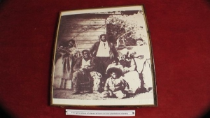 Old Family Portrait showing 4 generation of slaves