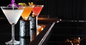Enjoy one of the resident mixologist's unique cocktails