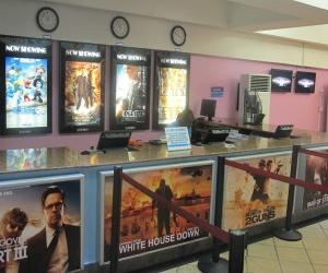 Cinema ticket stand