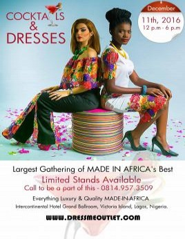 Cocktails & Dresses: Largest Gathering of Made-in-Africa's Best