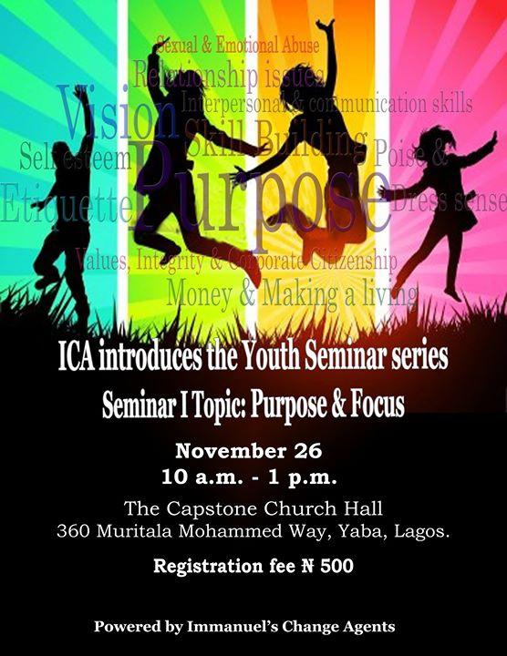 ICA Youth Seminar Series