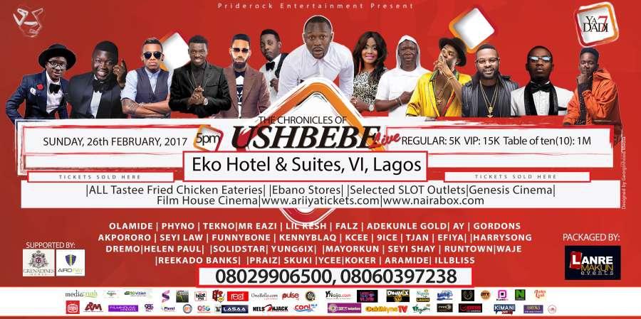 The Chronicles of Ushbebe Live
