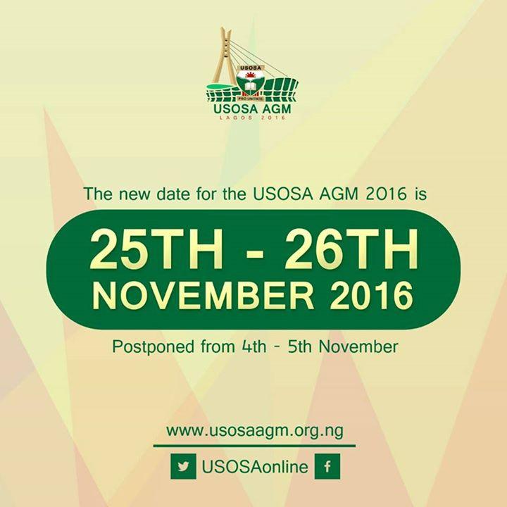 USOSA Annual General Meeting 2016
