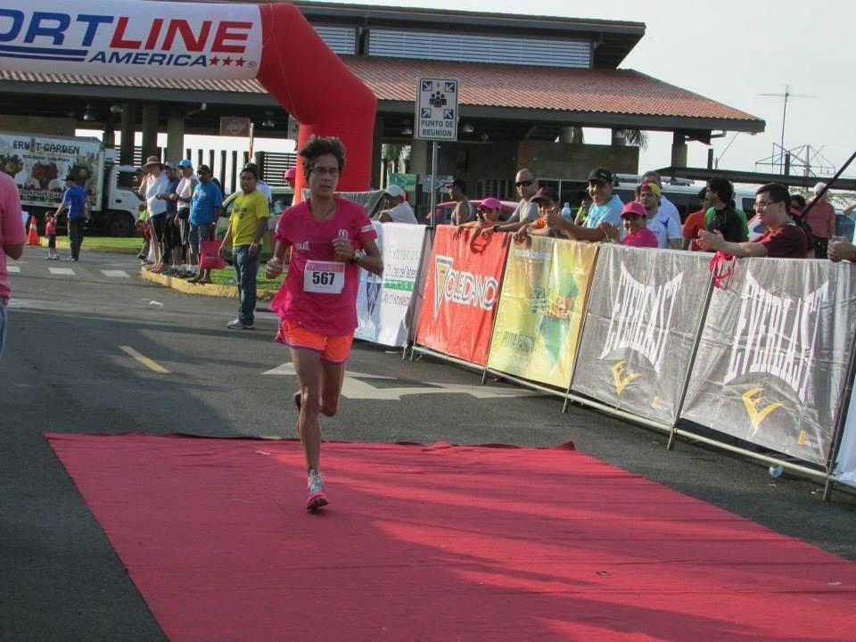 Winning a charity 5K run