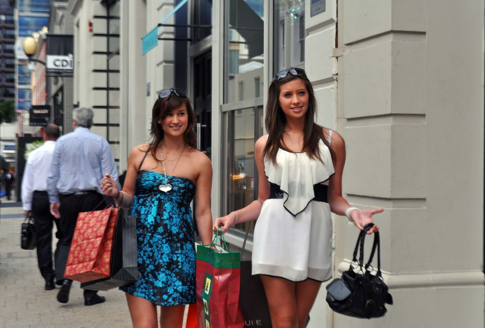 Shopping on King Street
