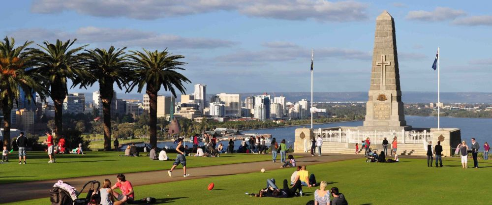 Kings Park on a sunny day