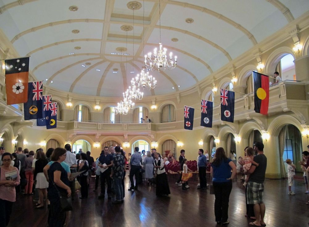 Grand Hall at Government House