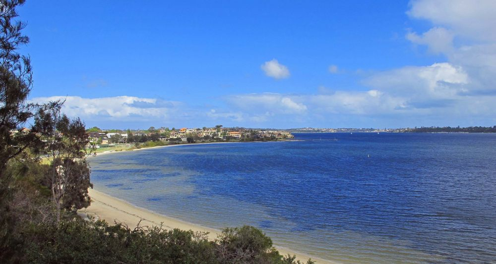 Swan River View from Point Heathcote
