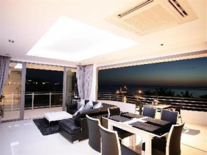 Dining area witha a view