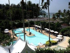 Swimming pool with island @ All Seasons Naiharn Phuket