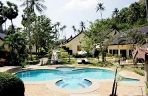 Bird-shaped pool