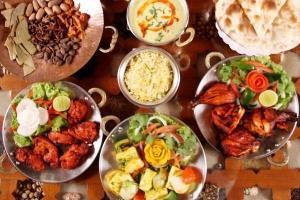 Colourful & flavourful dishes