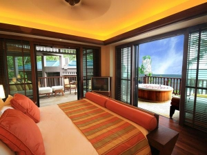 Comfortable accommodation with a sea view