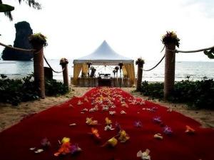 A wedding ceremony to happen