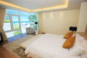 Bedroom facing the Andaman Sea