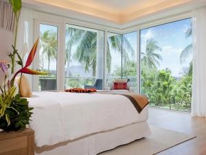 Bedroom of a Deluxe Suite