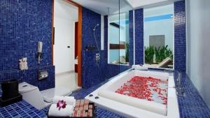 Bathroom in a Pool Villa with Loft