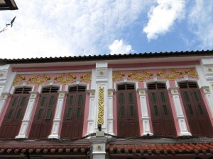 Refurbished Sino Portuguese shop house in Old Phuket Town