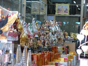 Chinese ornaments & candles in Old Phuket Town