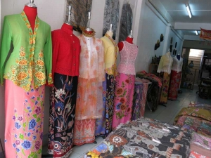 Clothing shop selling traditional styles in Old Phuket Town