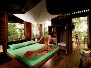 A treehouse fit for sleeping in