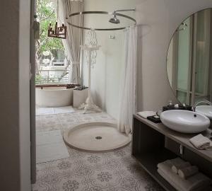 Bathroom in a villa
