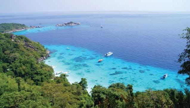 Similan Islands Marine National Park in Phuket  My Guide Phuket