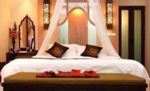 Guest room @ the spa resort