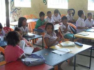 Kids at the Bangjo Learning Center