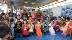 Som The Good Shepherd children and volunteers