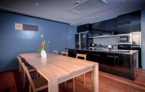 Kitchen in a 3-bedroom villa