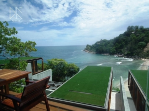 View from a villa