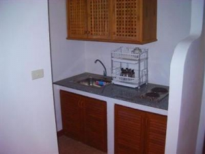 Kitchenette in a room