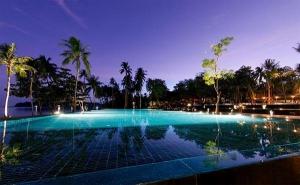 The resort's swimming pool