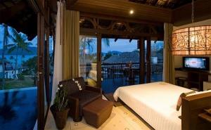 Cosy sleeping area