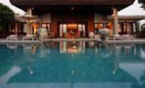 Swimming pool at a villa