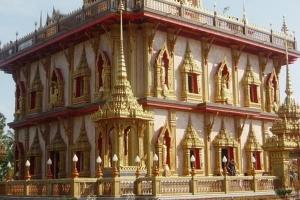 Pagoda at Wat Chalong