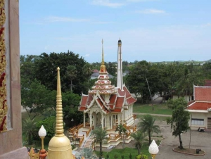 The crematorium at Wat Chalong