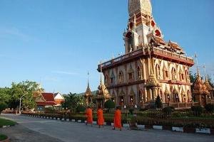 The Grand Pagoda at Wat Chalong