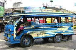 Songtaew (public bus)