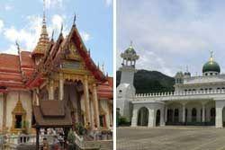 Buddhist and Muslim religions