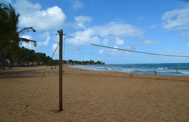 Playa Azul in Luquillo