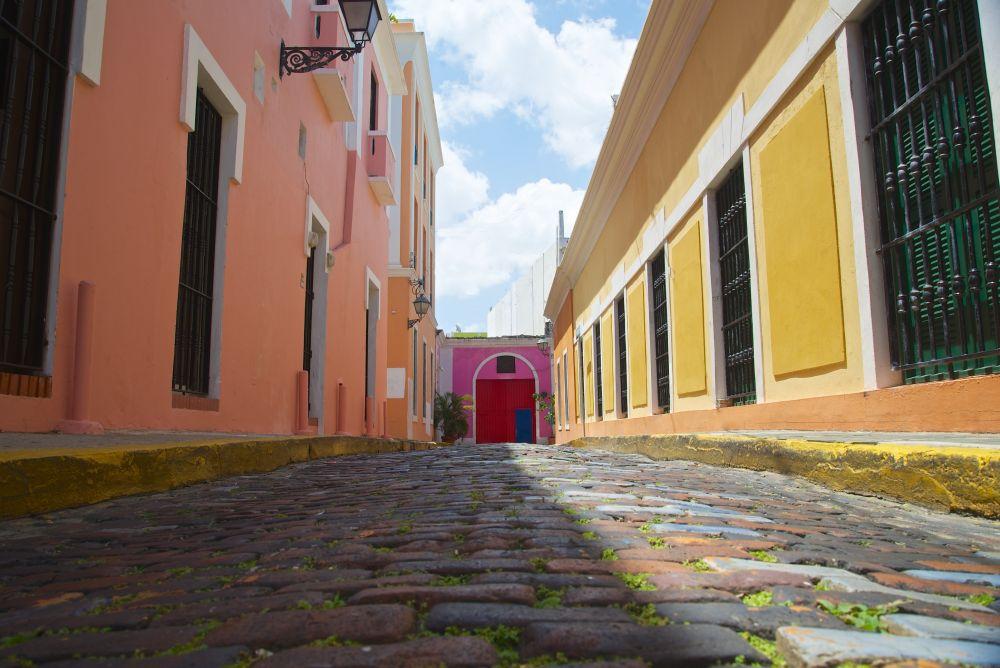 Old San Juan Cobblestones