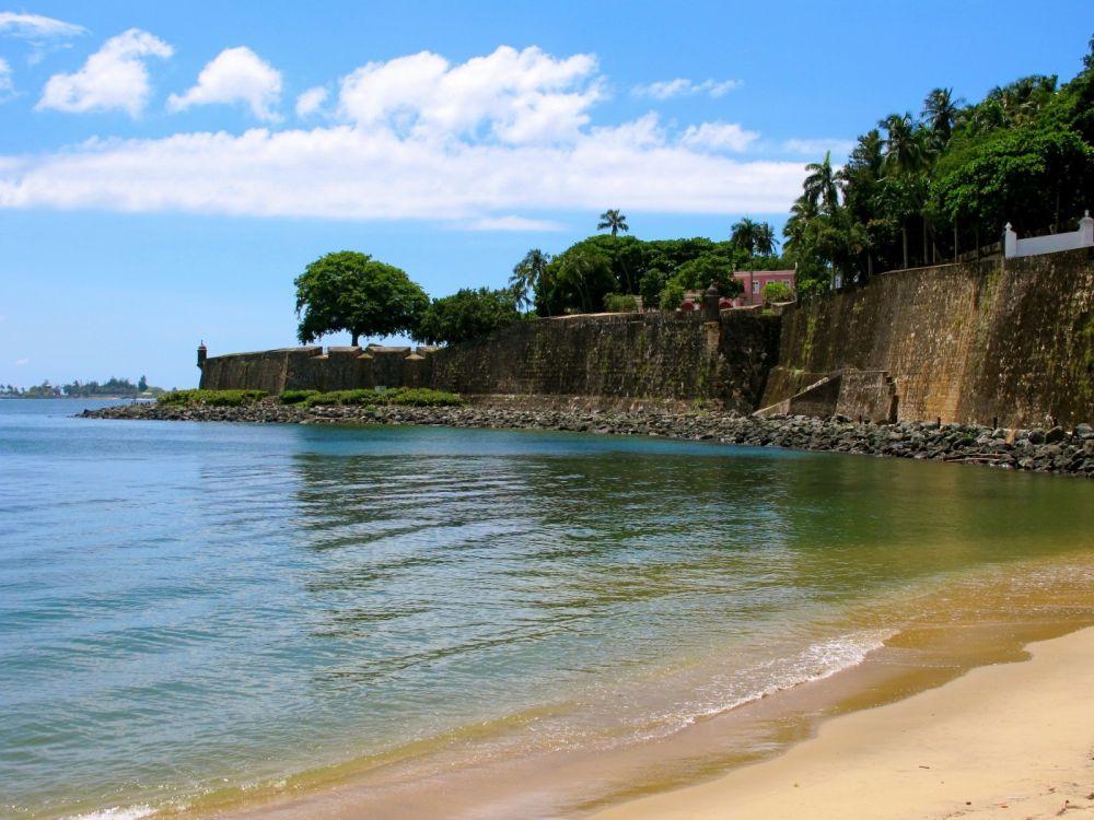 Walls surrounding Old San Juan
