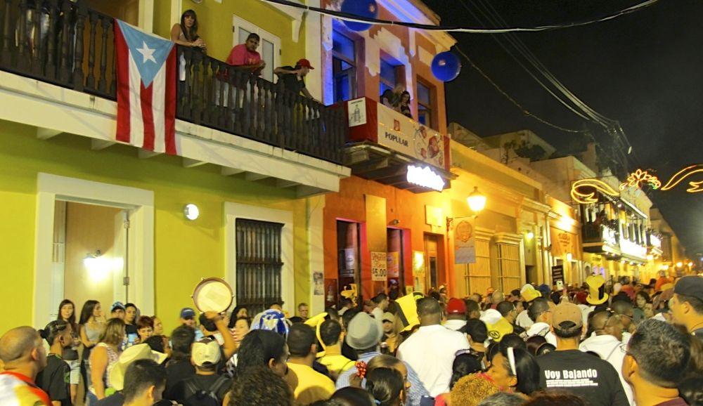 old san juan san sebastian street festival